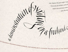 Kalligraphie Meisterklasse mit Denis Brown